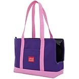 Manhattan Portage Pet Carrier Tote Bag Purple/ Pink (1310 PRP/PNK)