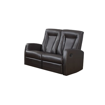Monarch Specialties 50L Brown 2 Piece Loveseat ( I 82BR-2 )
