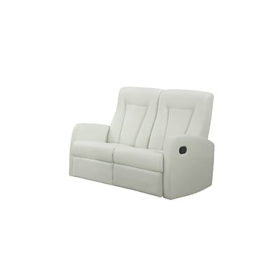 Monarch Specialties 50L Ivory 2 Piece Loveseat ( I 82IV-2 )