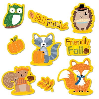 Creative Teaching Press Fall Woodland Friends Stickers, 50 ct. (CTP4044)
