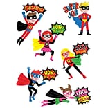 Superhero Reward Stickers, multicolor, Pack of 30 (CTP4402)