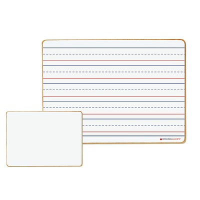 Dowling Magnets Magnetic Dry-Erase Lined/Blank Board