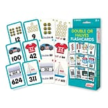 Double or Halves Flash Cards for grades 1-5, 1 pack of 162 cards (JRL213)