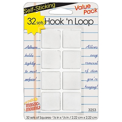 Miller Studio Hook n Loop, 7/8 Squares