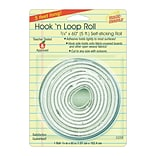 Miller Studio Hook n Loop Mounting Roll, 3/4 x 60 Roll, White