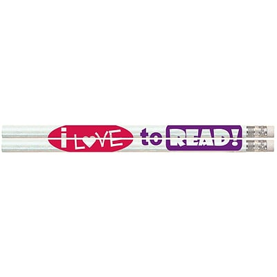 I Love to Read Pencils, #2, 144/Box