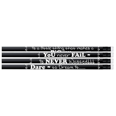 Musgrave Chalkboard Talk Pencil, No. 2, 12 Packs of 12 (MUS2547D)