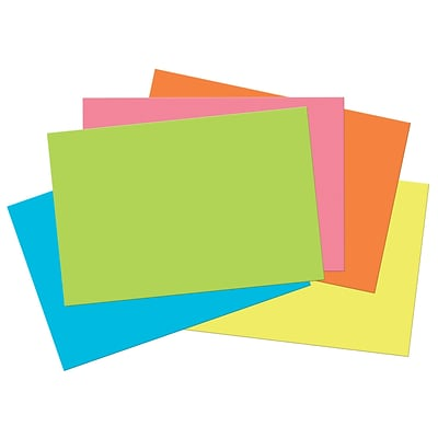 Pacon Corporation Tru-Ray® Fade-Resistant Construction Paper, 12W x 18L, Hot Assorted Colors (PAC6597)