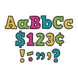 Teacher Created Resources Chalkboard Brights 4 Bold Block Multi-Themed Letters, 230/Pack