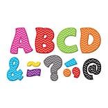 Teacher Created Resources Chevron Fantastic Font 3 Magnetic Letters, 67 Pieces (TCR77213)