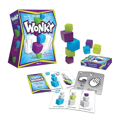 Wonky: The Crazy Cubes Card Game (USAWK107000)