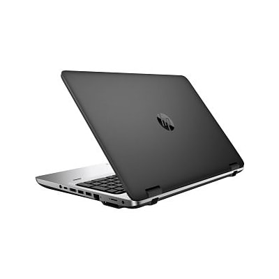 HP® ProBook 650 G2 V1P79UT#ABA 15.6 Notebook PC; LED, Intel i5-6300U, Dual-Core, 500GB HDD, 8GB, WIN 7 Pro, Black