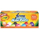 Crayola 10-color Neon Washable Kids Paint