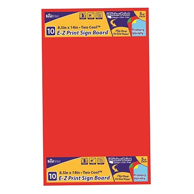 It is a photo of Dynamic Printable Poster Board