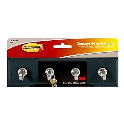Command™ Slate Key Rail, 1/Pack
