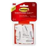 Command™ Medium Wire Toggle Hook Value Pack, 7/Pack