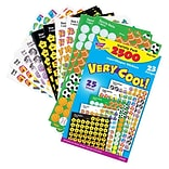 Trend® superShapes Very Cool! Variety Pack Sticker, Multicolor, 2500/Pack (T-46903)