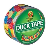 Colored Duct Tape, 1.88 x 10 Yds., 3 Core, Gummy Bears