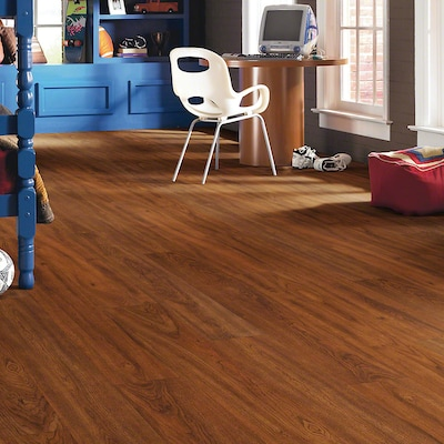 Shaw Floors Natural Impact Ii 8'' X 48'' X 7.94mm Cherry Laminate In Frontier Cherry