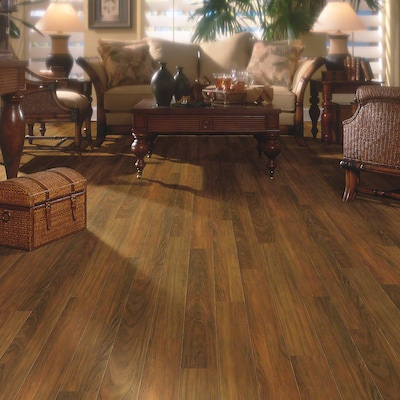 Shaw Floors Caribbean Vue 5'' X 48'' X 7.94mm Cherry Laminate In Cherry Woodlands