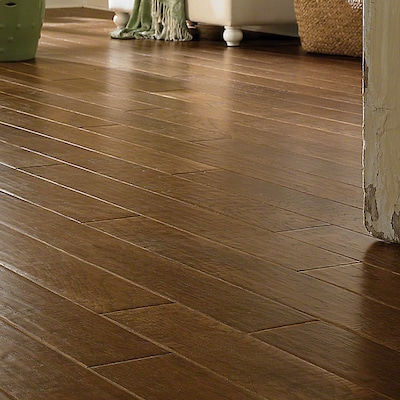 Anderson Floors Chestnut Hill 5'' Engineered Hickory Hardwood Flooring In Saratoga