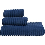 Design Accents Florence 3 Piece Towel Set; Egyptian Blue