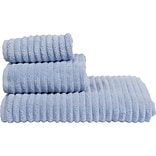 Design Accents Florence 3 Piece Towel Set; Periwinkle
