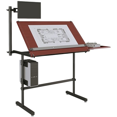 Versa Tables Laminated Wood  Drafting Table Basic  48 x 30 Cherry (SPB20248300102)