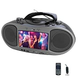 Naxa ndl-256 Boombox Bluetooth DVD Player; Black