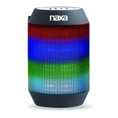 Naxa nas-3075 Vibe Mini Bluetooth Portable Speaker; Black