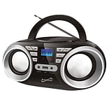 Supersonic Portable Audio System; 100 - 240 V, Black (sc-506-bk)
