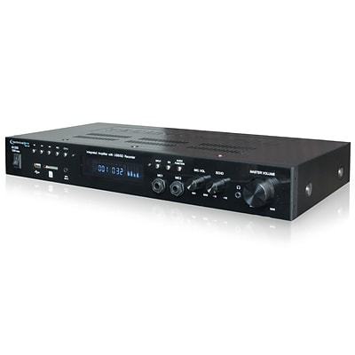 Technical Pro Integrated Amplifier with USB and SD Card Inputs; 110/220 V (ia1200)