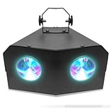 Technical Pro Professional DJ Multi Beam 128 LED Dual Lens Light with DMX; 110/220 V (lg128x2)