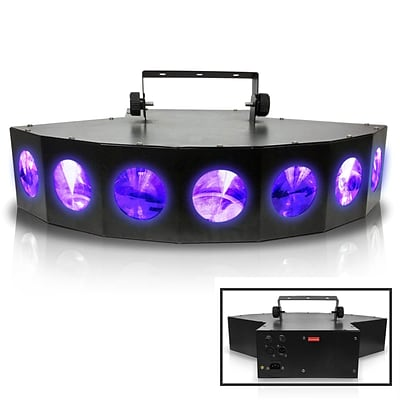 Technical Pro Professional DJ Multi Beam LED 7 Way Light with DMX; 110 V (lg700x)