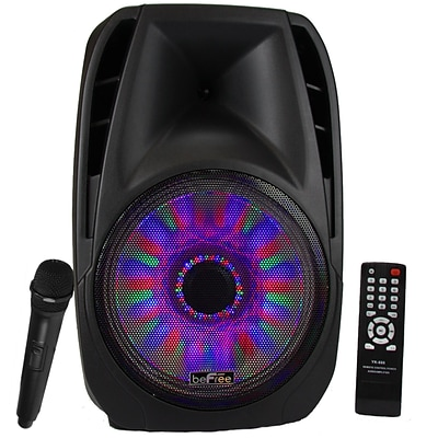 beFree Sound bfs-6100 Bluetooth Tailgate Speaker; Black