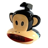 Paul Frank Projection Clock Radio, 4.3 x 5.7 x 6.3, Multi Color, Wall (pf254-16)