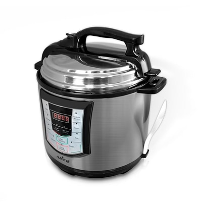 Nutrichef 6 - 9 qt Electronic Pressure Cooker (pkprc22)