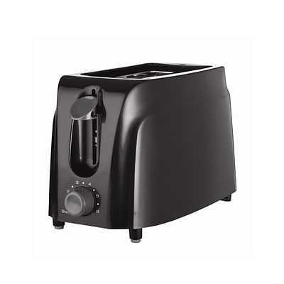 Better Chef 2 Slices Toaster; Black (ts-260b)