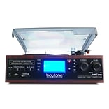 Boytone 3-Speed Home Turntable System , 120 V (bt-19djm-c)