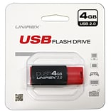 Unirex 4GB USB 2.0 Flash Drive (usfp-204)