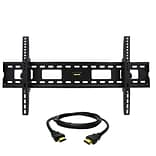 MegaMounts Tilt Wall TV Mount with HDMI Cable; 220 lbs. (gmpt1248-hdmi-bndl)