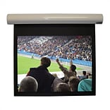 Vutec Lectric I Matte Black Electric Projection Screen Low Voltage Motor; 100 diagonal