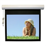 Vutec Lectric I RF Matte Black Electric Projection Screen Low Voltage Motor; 110 diagonal