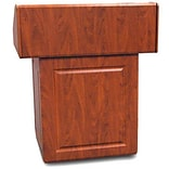 VFI Executive Multimedia Podium; Ebony Black