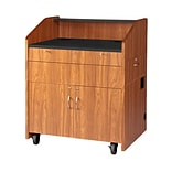 VFI Multimedia Podium; Brazilian Walnut