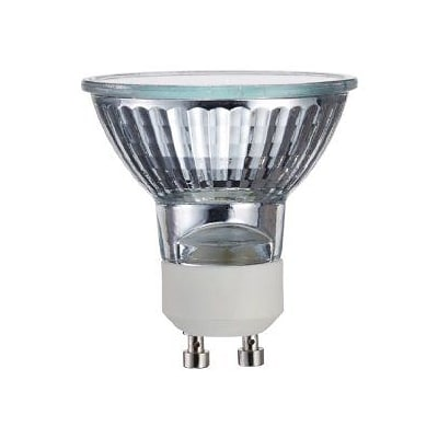 Philips Halogen MR16 Lamp, 25° Flood, 50 Watts, GU10 Base, 6PK
