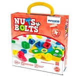 Miniland Educational Nuts and Bolts, Multicolor (45303)