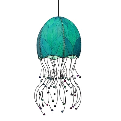 Eangee Home Design Jellyfish Hanging Sea Blue Pendant -Blue (525 Sb)