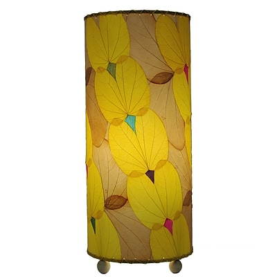 Eangee Home Design Butterfly Alibangbang Leaf Table Lamp -Yellow (479-Y)