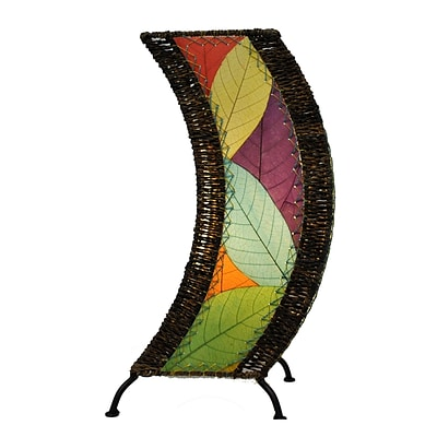 Eangee Home Design C-Shape Table Lamp -Multicolored (566-M)
